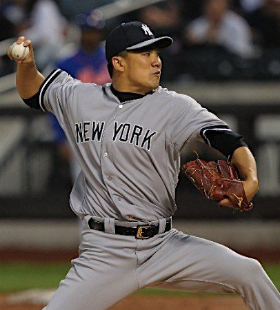 プロ野球選手の田中将大投手!アップの壁紙