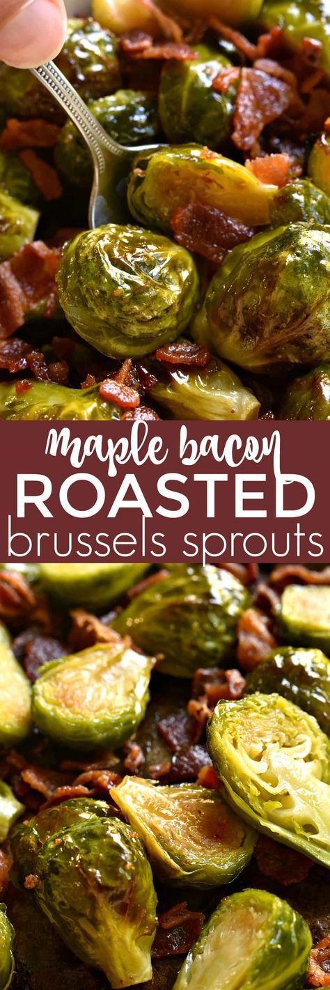 Brussel Sprout Recipes With Bacon Roasted Maple Syrup