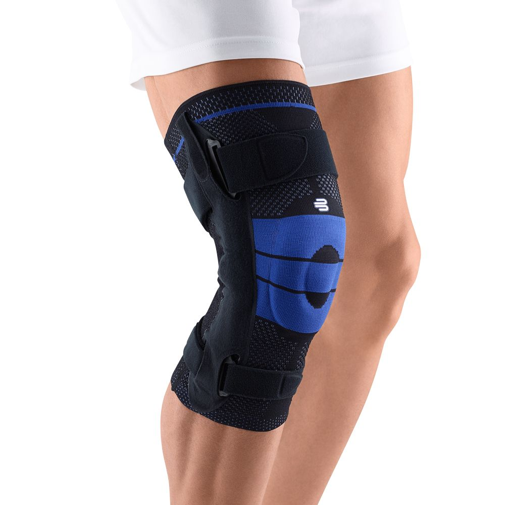 Bauerfeind S Genutrain S Knee Brace Provides Reliable Support For Arthritis Sprains Mcl Lcl Advanced Knee Sprains I Knee Brace Sports Braces Knee Support