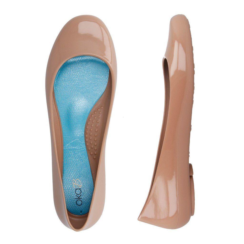 OKA B Taylor Ballet Flat Women's jelly shoes