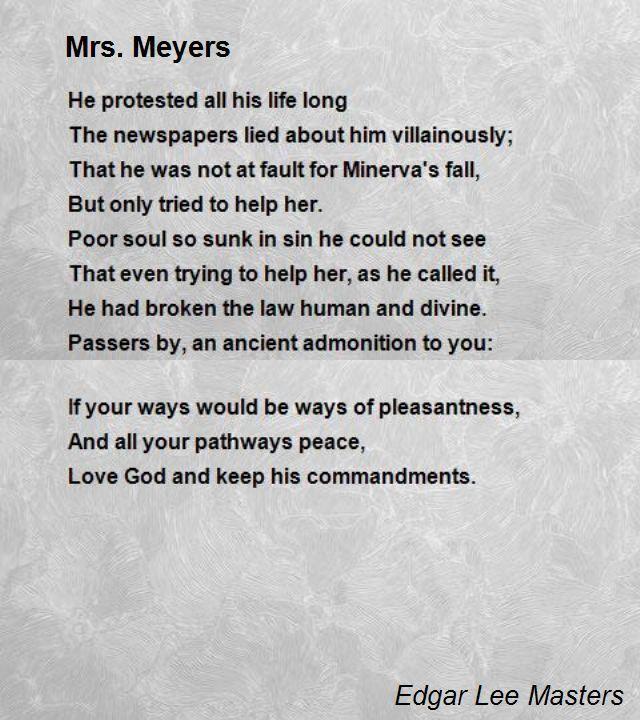 Famous Sad Poems 2