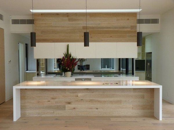Modern Oak Kitchen Designs Kitchen Island White Countertop Black Beauteous Modern Wooden Kitchen Designs Decorating Inspiration