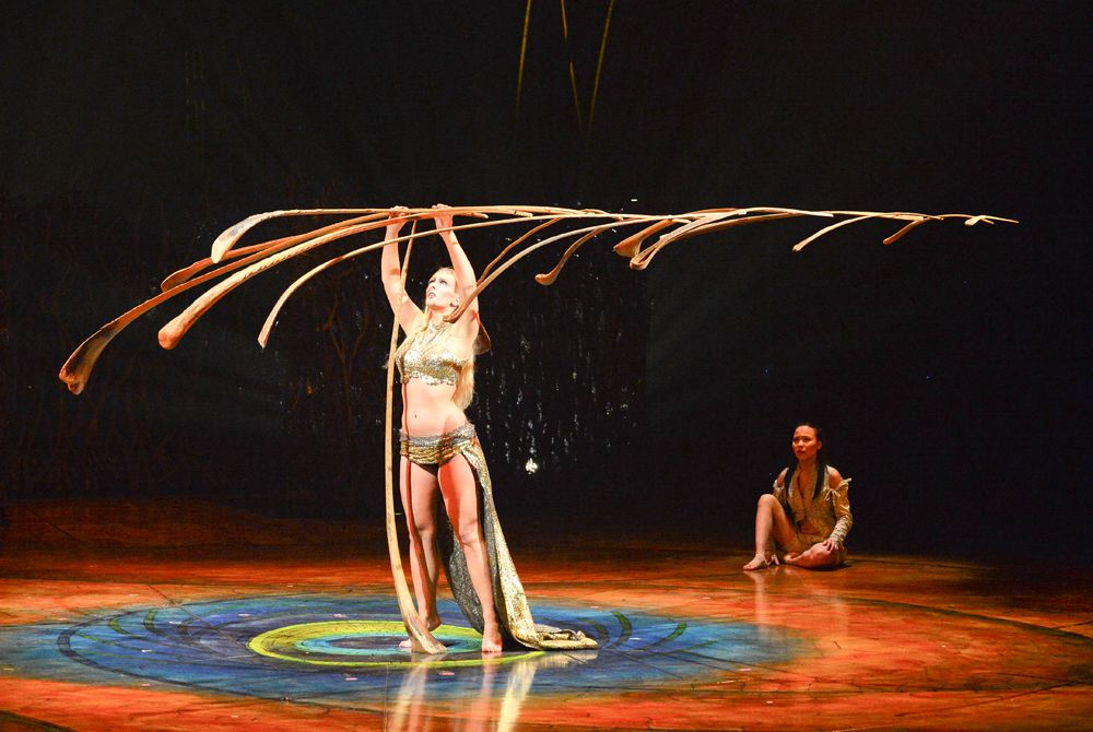 The Most Amazing Thing I Have Ever Seen Cirque Du Soleil S Incredible Amaluna The Balancing Act By The Swisslara La Cirque Du Soleil Cirque Circus Art