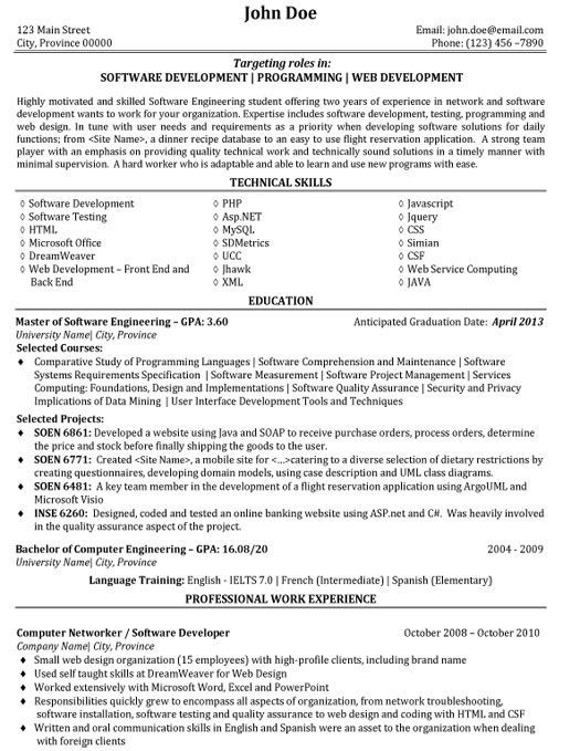 Best Resume Software Template learnhowtoloseweight.net ...