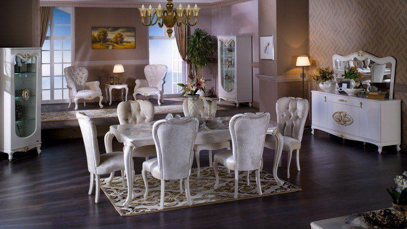 Salle à manger baroque dans un intérieur contemporain ! | Baroque ...