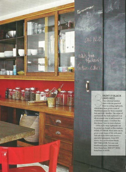 Tisch U0026 Wand In Rot. #KOLORAT #Wandfarbe #Rot #red #Interior #Wohnideen # Streichen