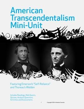 The Role of Nature in Transcendental Poetry: Emerson, Thoreau & Whitman