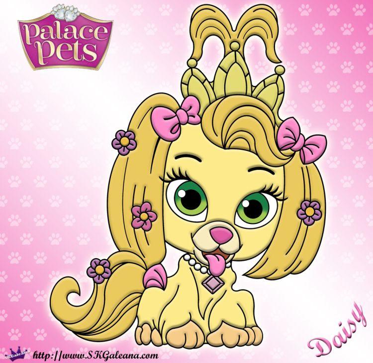 Free Princess Palace Pets Daisy Coloring Page Princess