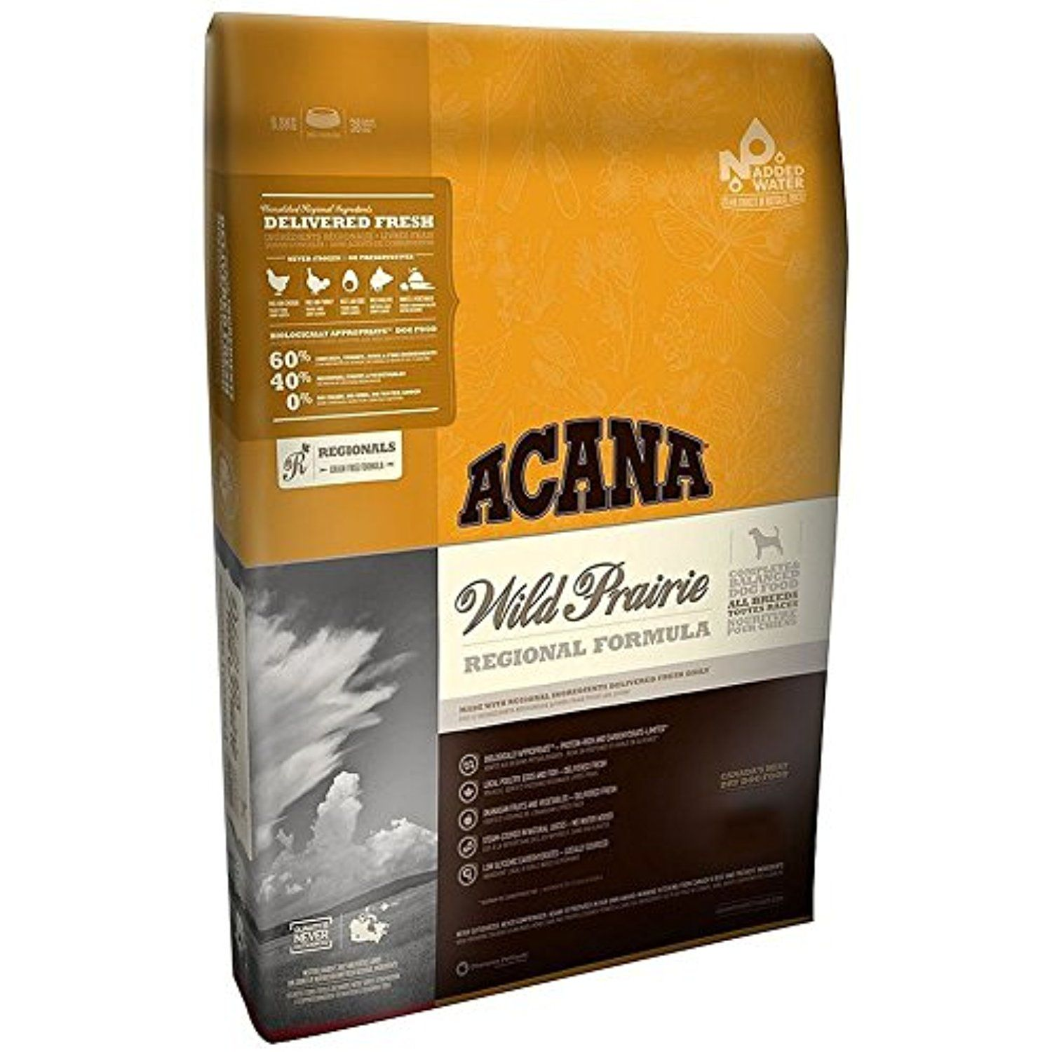 Acana Wild Prairie Dry Dog Food (New Formula) 5 LB You