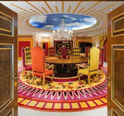 Hotel 7 Etoile Dubai une suite d'hôtel 7 étoiles à 27.000 | dining and architecture