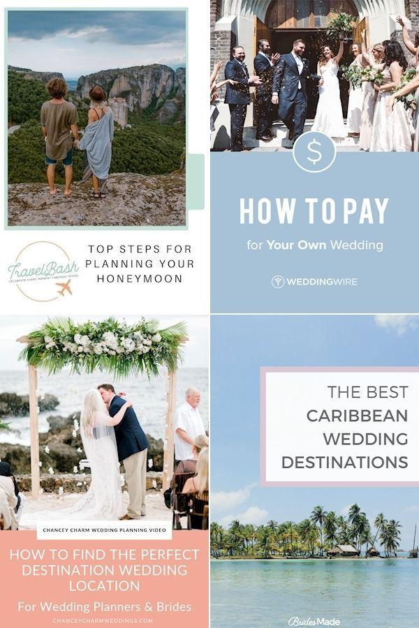 Destination Wedding Printable Wedding Planning Checklist