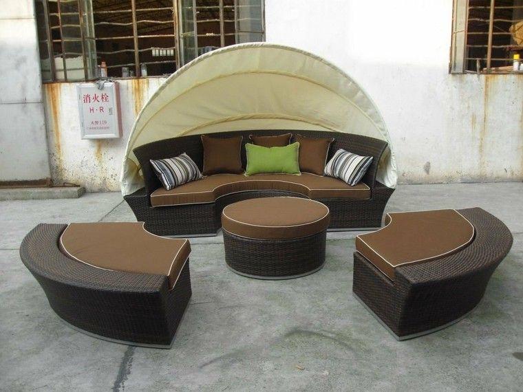 Mimbre Y Rattan Para Los Muebles De Jardin 100 Ideas Rattan