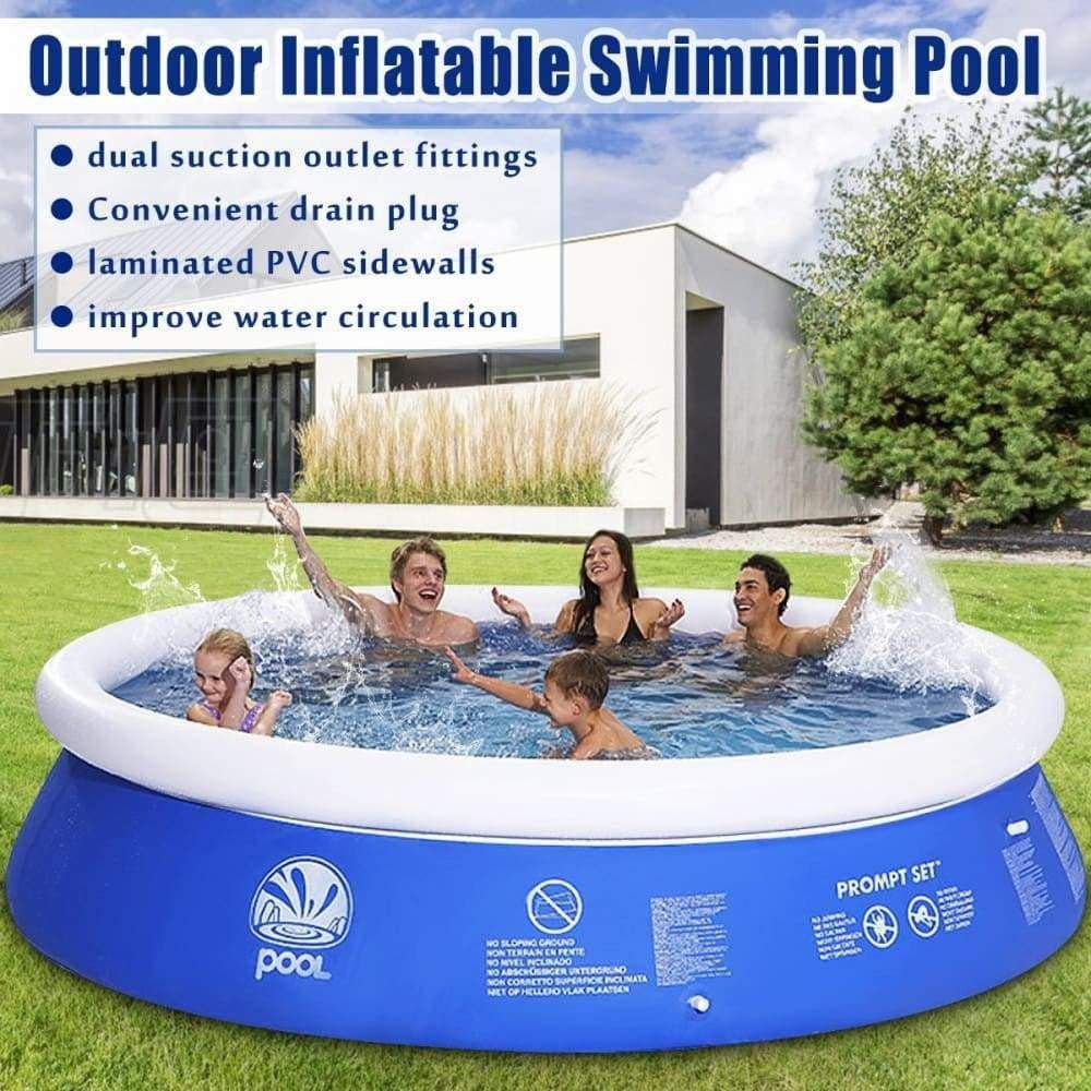 Inflatable Family Pool Pausetwoplay Inflatable swimming