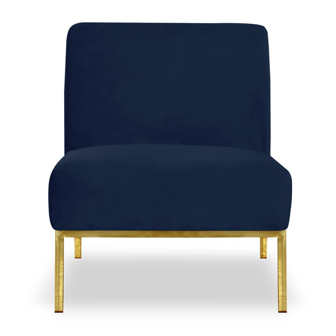 sloane velvet armchair navy in 2019 products velvet armchair rh pinterest com