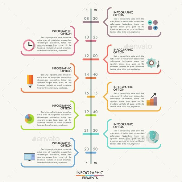 minimal timeline template photoshop psd infographic creative available here https