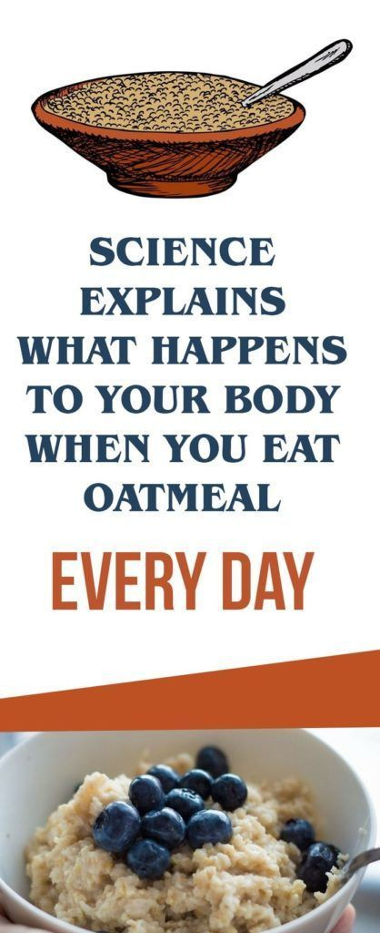 Image result for Science Explains What Happens To Your Body When You Eat Oatmeal Every Day