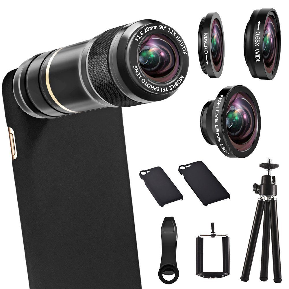 iPhone Camera Lens Kit ARORY HD 4 in 1 Telephoto Lens