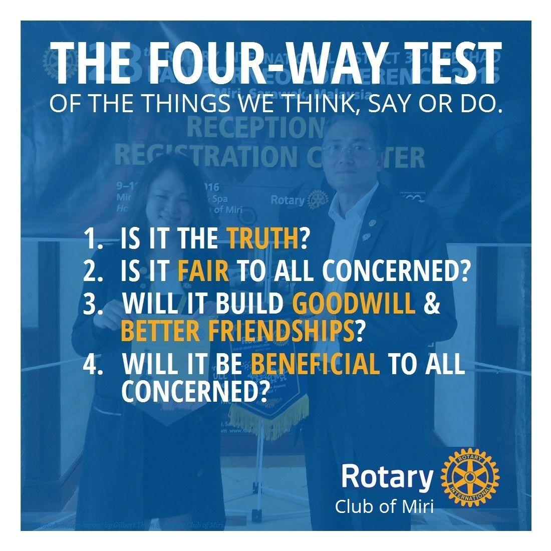 Rotary 4 Way Test