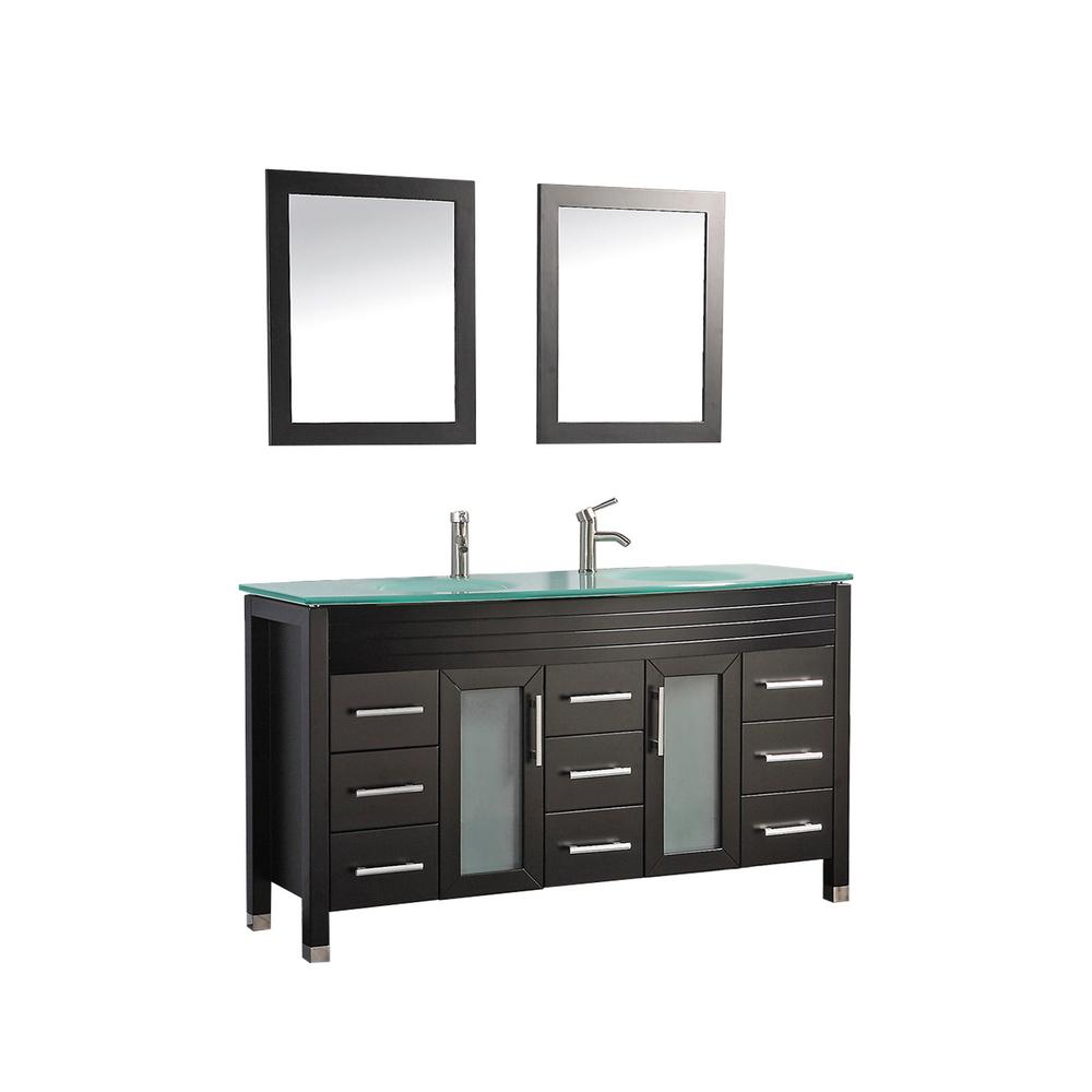 Mtd Vanities Figi 63 In W X 22 In D X 36 In H Vanity In