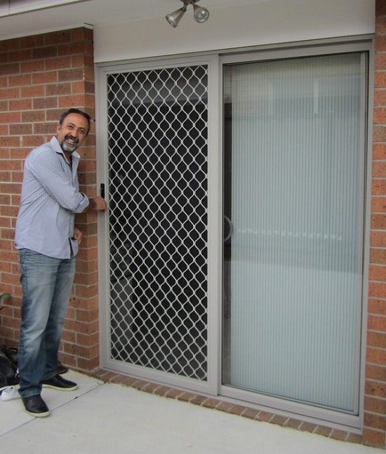 Perforated Security Doors