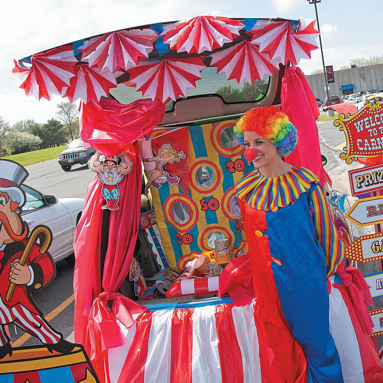 carnival trunk or treat car decorations orientaltrading com