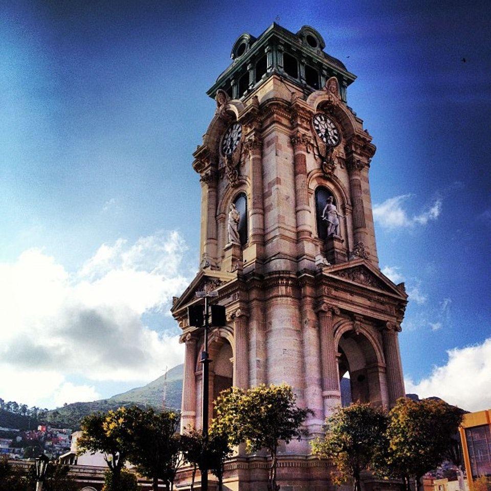 Reloj Monumental Pachuca Hidalgo Pachuca Mexico Colores Arquitectura Barroca