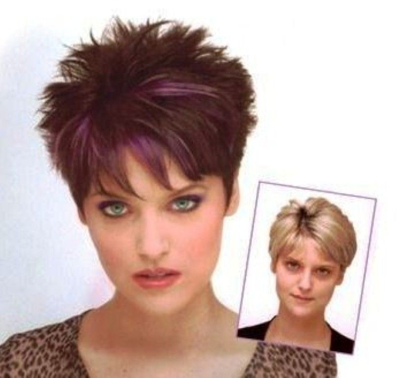 Spiky Short Spikey Hairstyles for Women