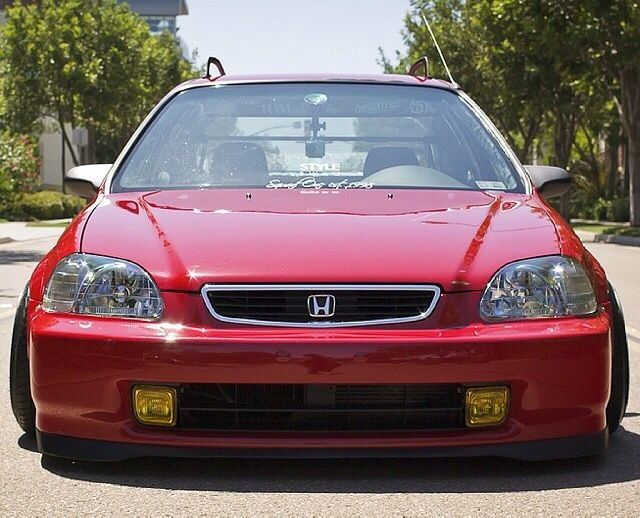 #honda #civic #ej8 #jdm #lowered #low #stanced #clean #imports #loweredlifestyle