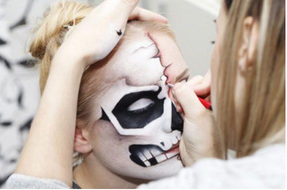 Maquillaje de Halloween para niños blogdisfracesparahalloweeneu - maquillaje de halloween para nios