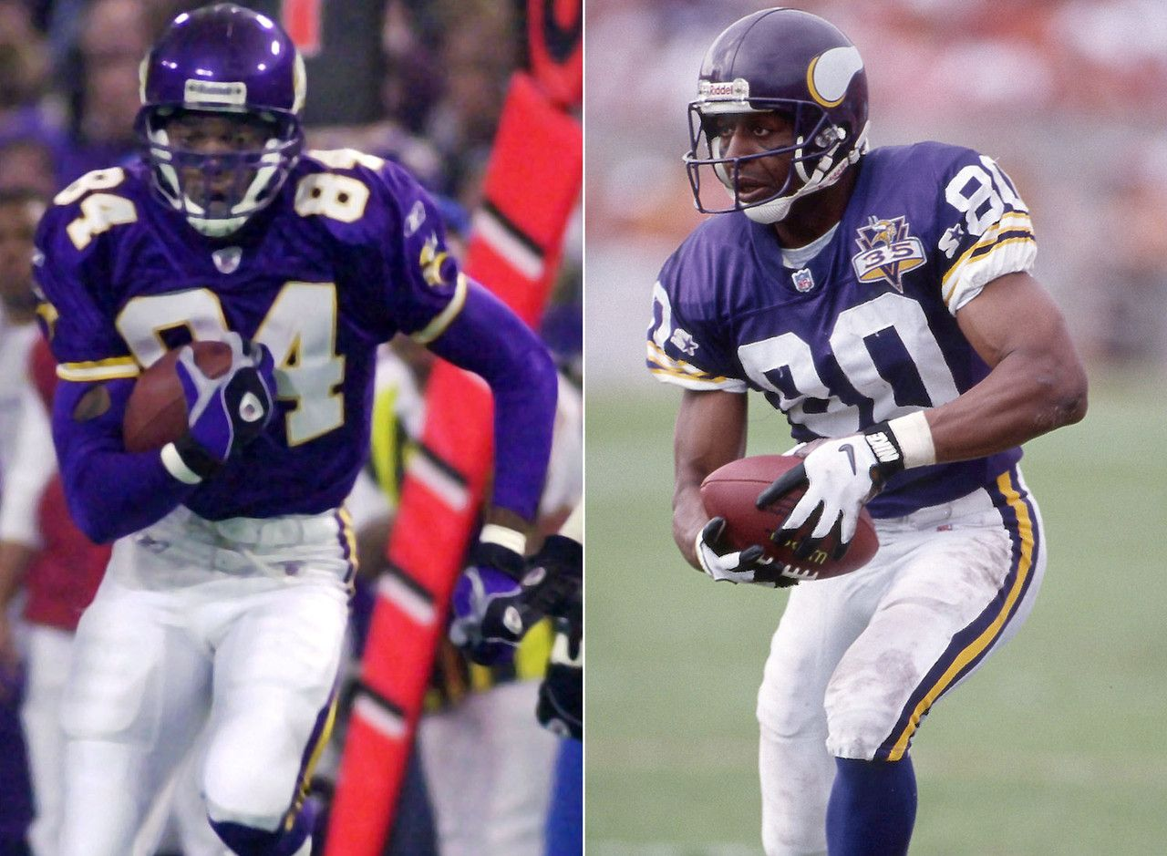 Best Receiving Tandems Of All Time Minnesota Vikings Football Vikings Football Nfl Football
