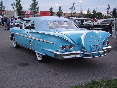 58 Impala droptop rear