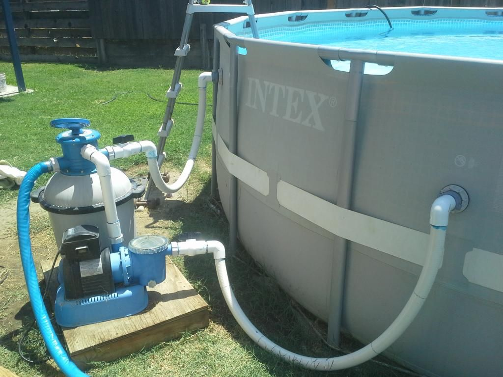 Custom Pvc Pipe Adapter For Intex Pools Page 9 Pools Pinterest Free Pool Ground Pools