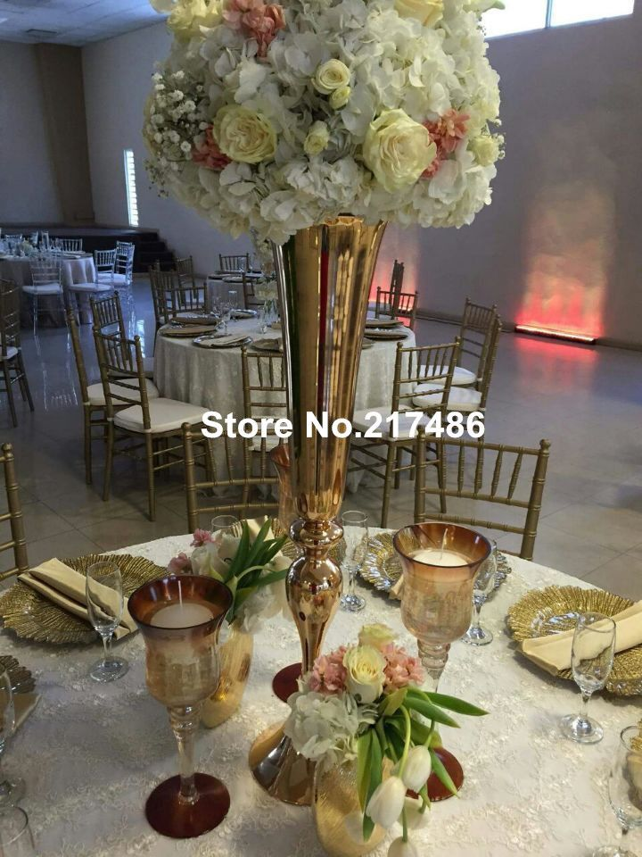 Cheap Vase Centerpieces Buy Quality Pictures Directly From China Gold Suppliers Nbsp Use For The Wedding Decoration When If Younbspfrom