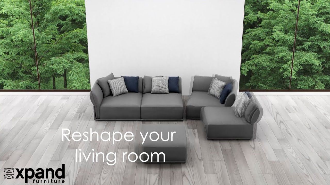 Stratus Modular Sofa for apartments - YouTube | Modular Sofas ...