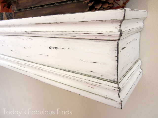 Today S Fabulous Finds Diy Mantel Shelf And How To Hang It Diy Mantel Mantel Shelf Diy Mantle