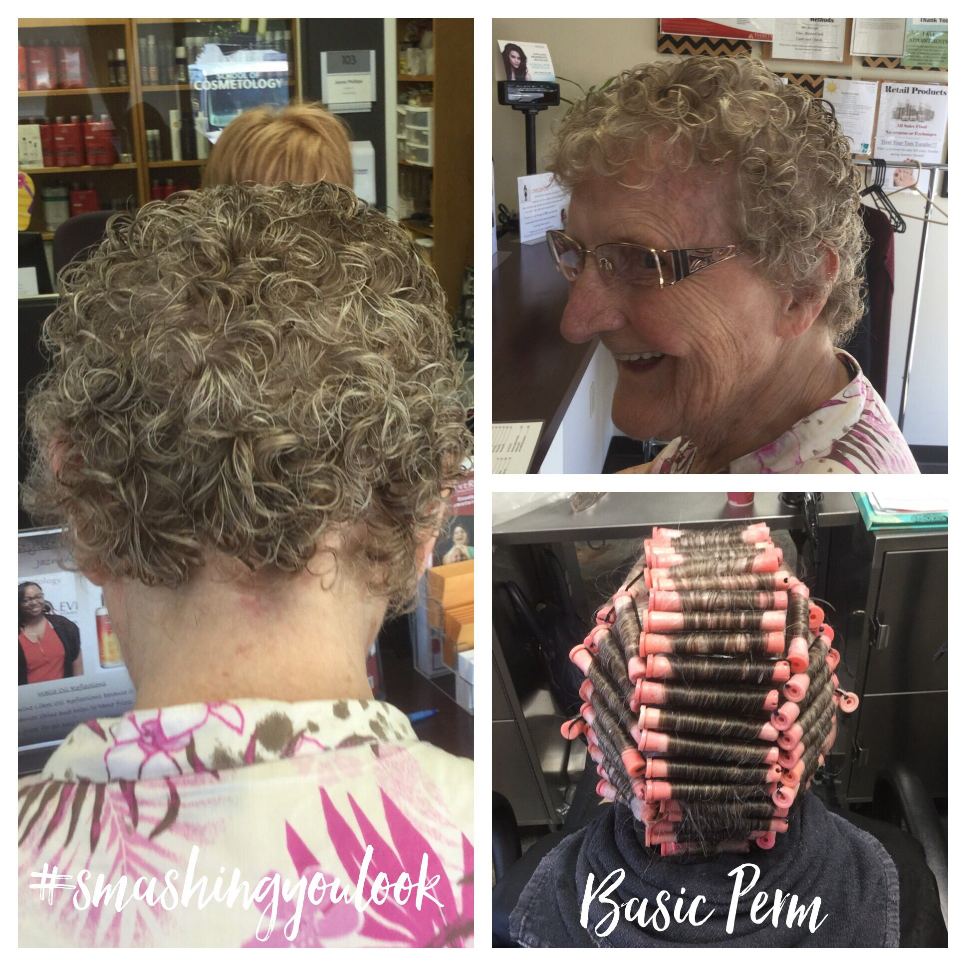 Straight perm solution - Basic Perm Using Pink Rods And Quantum Firm Options Processing Solution Followed With A 90