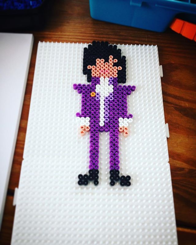 prince 1958 2016 perler beads by cino_don