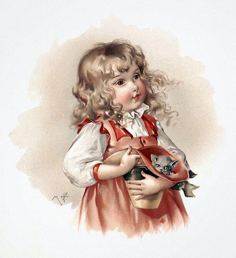 Картинки детей для декупажа