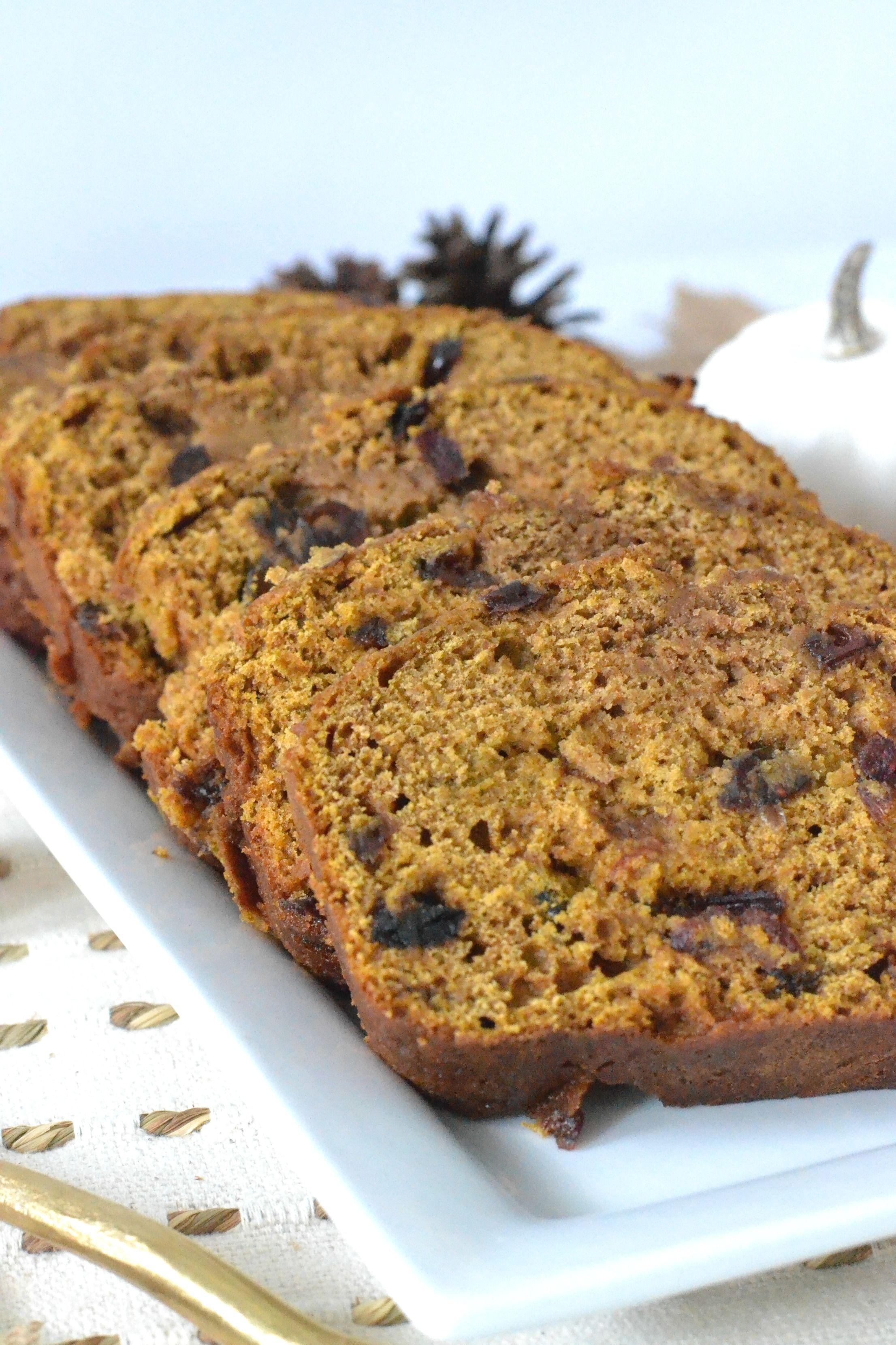 Cranberry Pumpkin Buttermilk Bread Recipe Pumpkin Cranberry Bread Buttermilk Bread Pumpkin Recipes