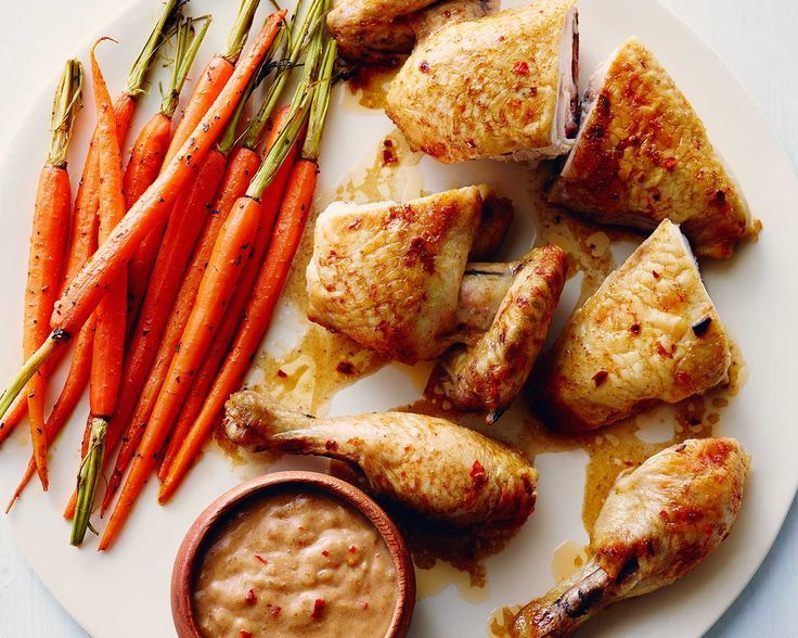 Coconut-Lime Flattened Chicken