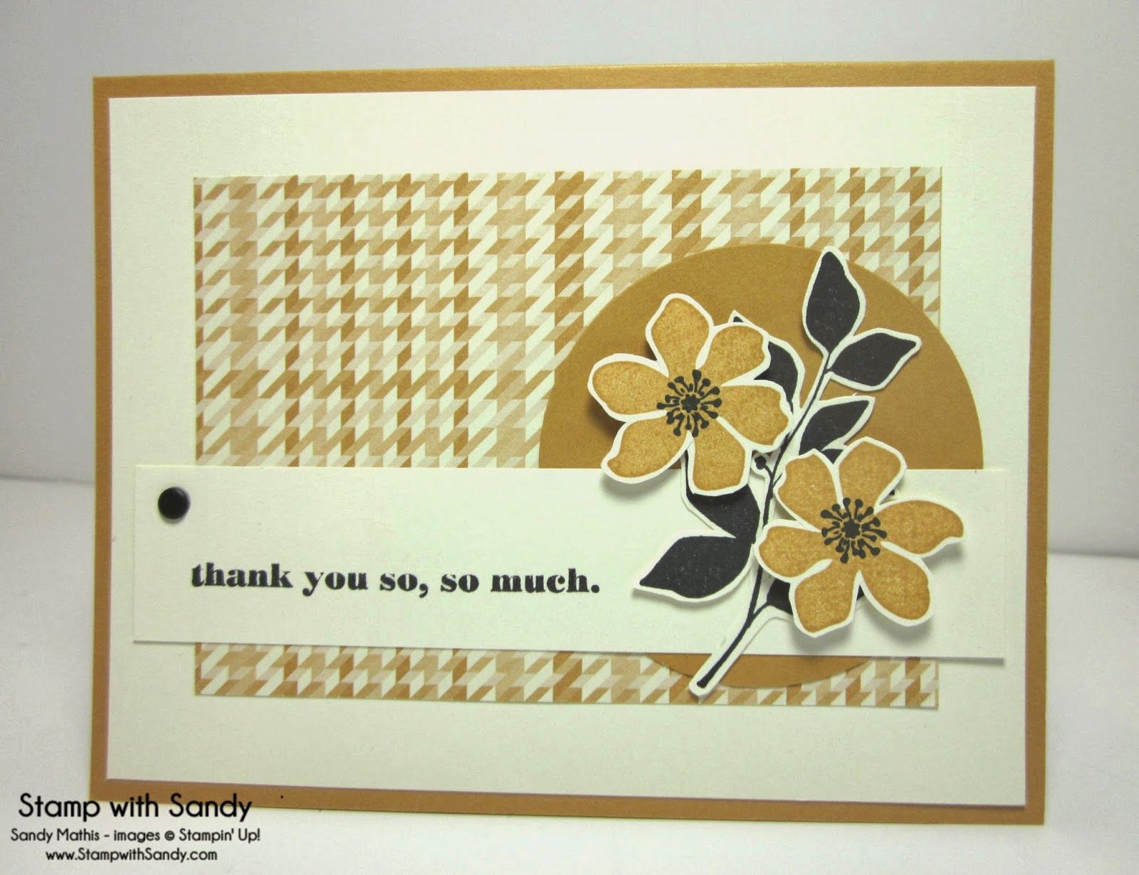Stamp With Sandy: Mustard Silhouettes, Summer Silhouettes and Delightful Dozen Stamp Sets, Stampin' Up