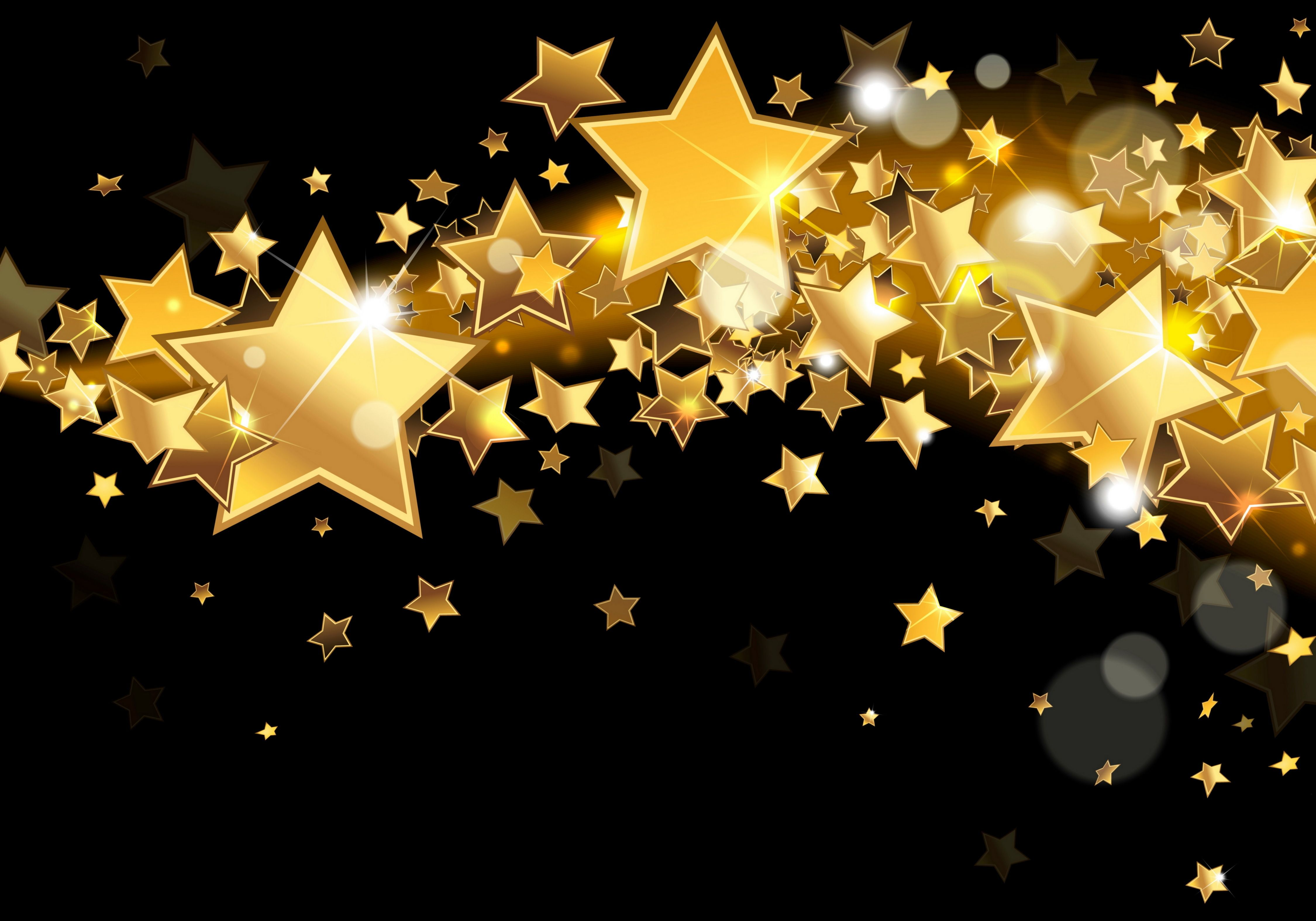 Gold Black Backgrounds Deposit Google Search Stars