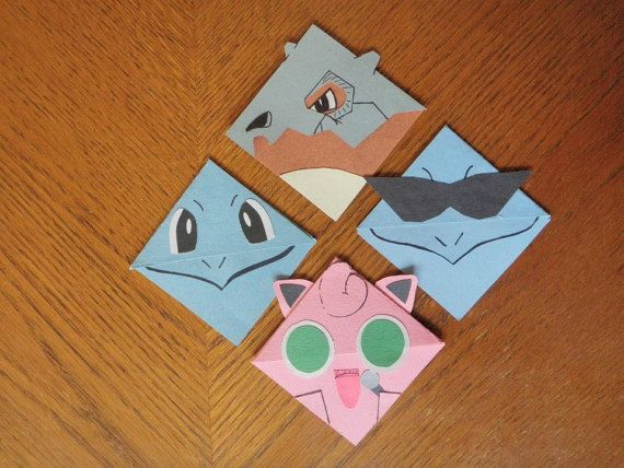 Laminated Pokemon Corner Bookmarks Laminated Cubone Bulbasaur