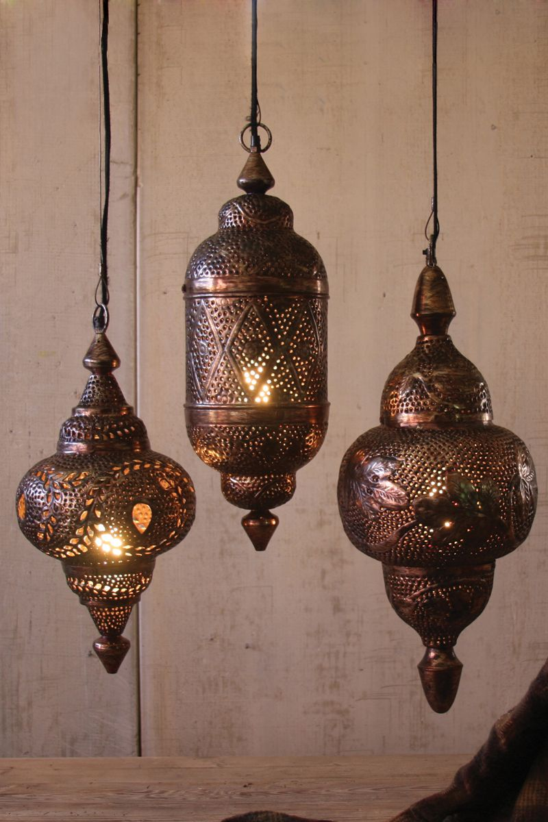 Intricate punched metal moroccan lamp with bronze finish wish intricate punched metal moroccan lamp with bronze finish arubaitofo Image collections