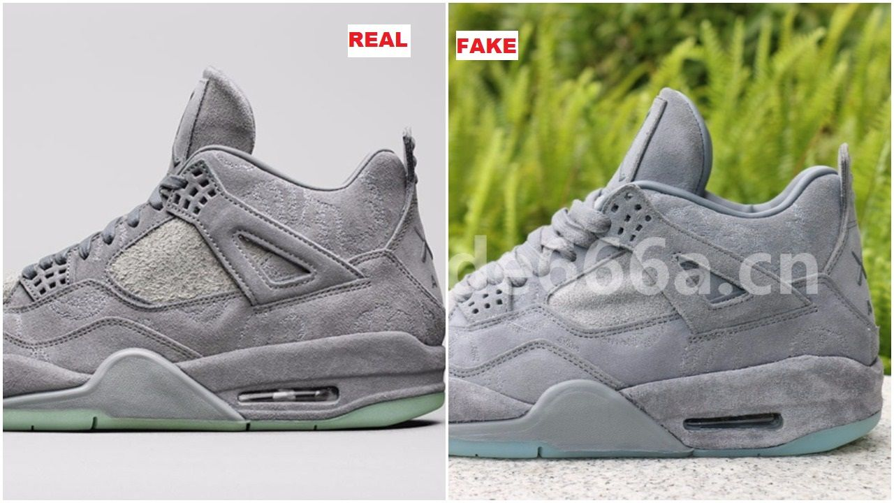 The Fake Air Jordan 4 Kaws Have Emerged  195d6e853