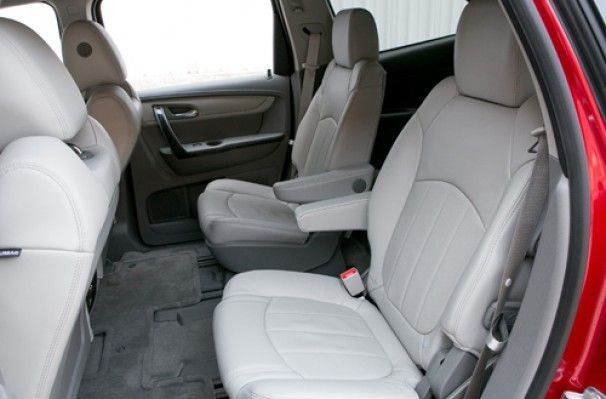 Which Three Row Suvs Offer Second Row Captain S Chairs Kicking