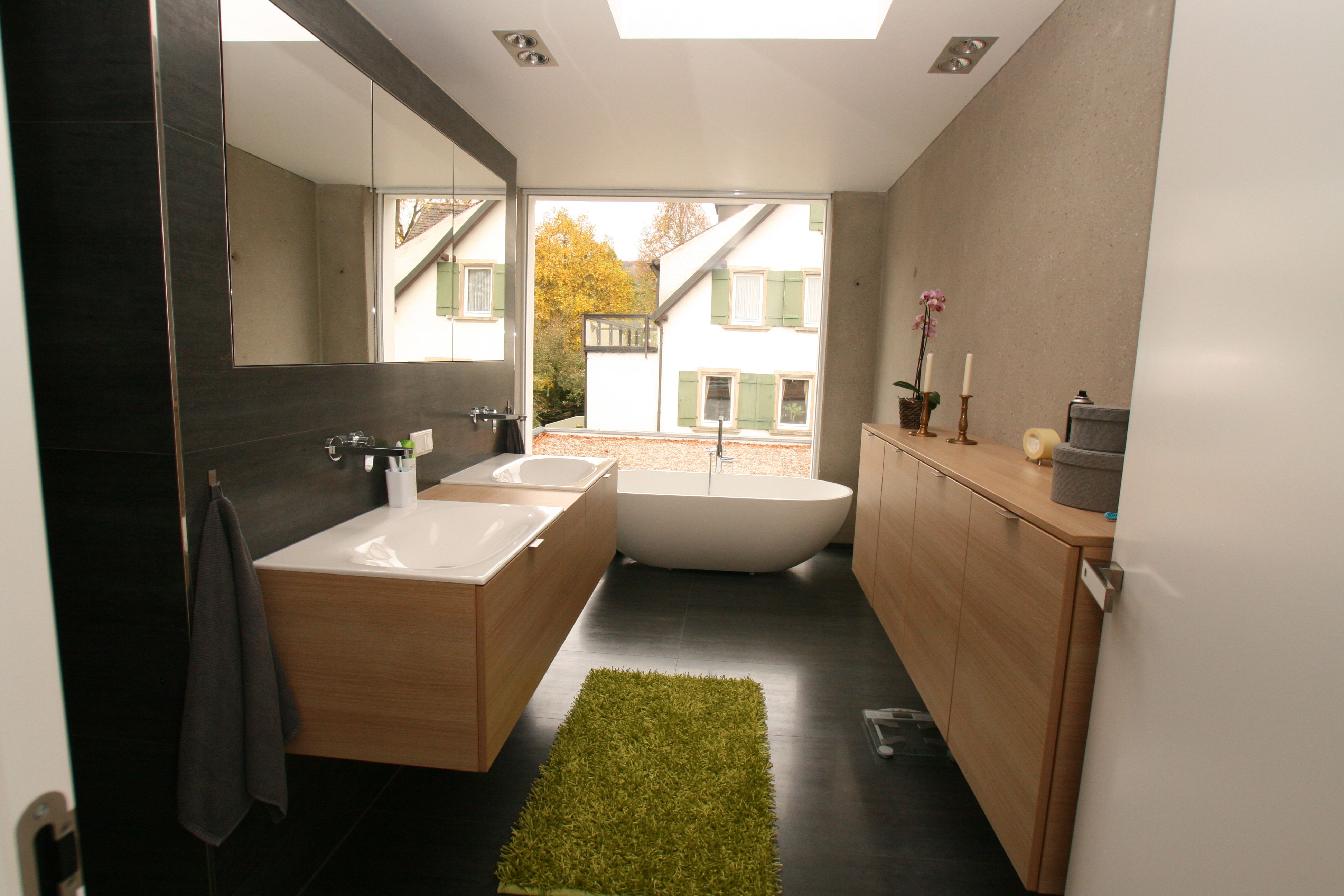 Modernes Badezimmer Badezimmer Modernes Badezimmer Schreinerei