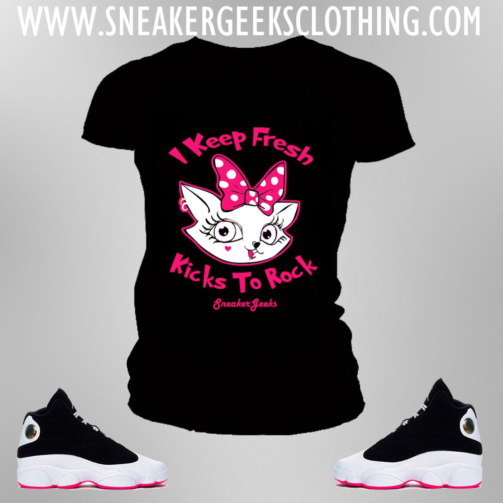 df38d1bb43f032 SneakerGeeks Clothing - Women t-shirts to match Sneakers