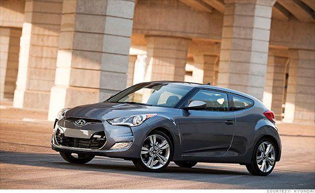 10 Coolest Cars Under 18 000 Hyundai Veloster Hyundai Hatchback Cars