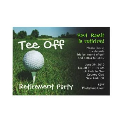 golf themed retirement party for ye ye and nai nai?